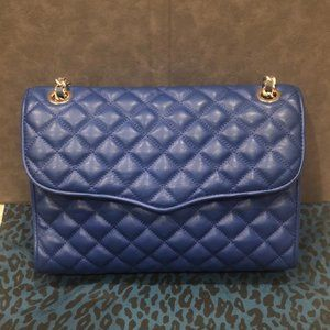 Rebecca Minkoff Quilted Affair Bag - Electric Blue